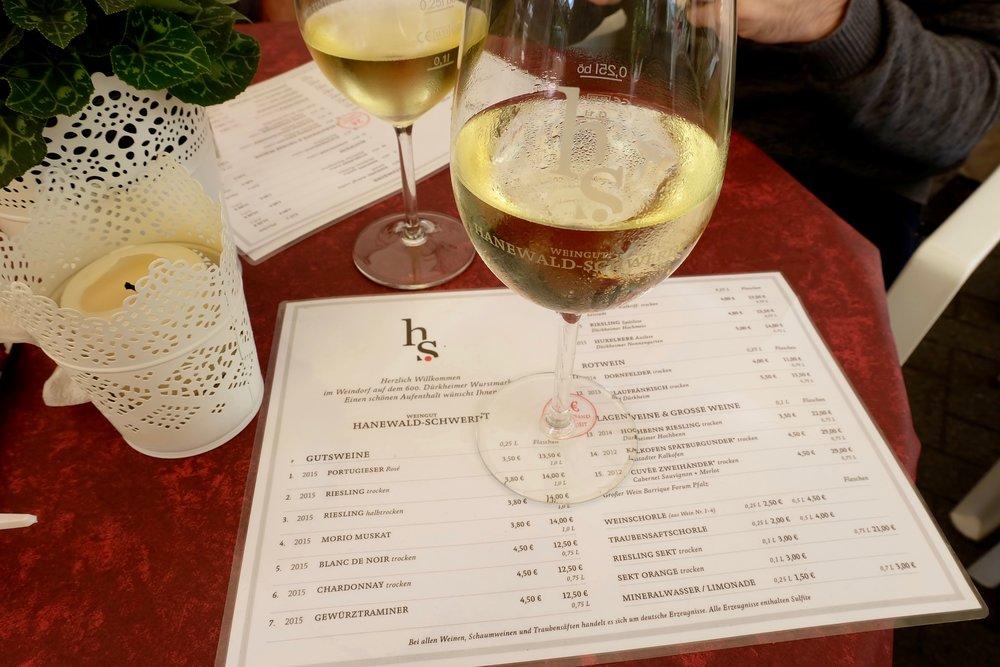 Rieslingat Weingut Hanewald-Schwerdt