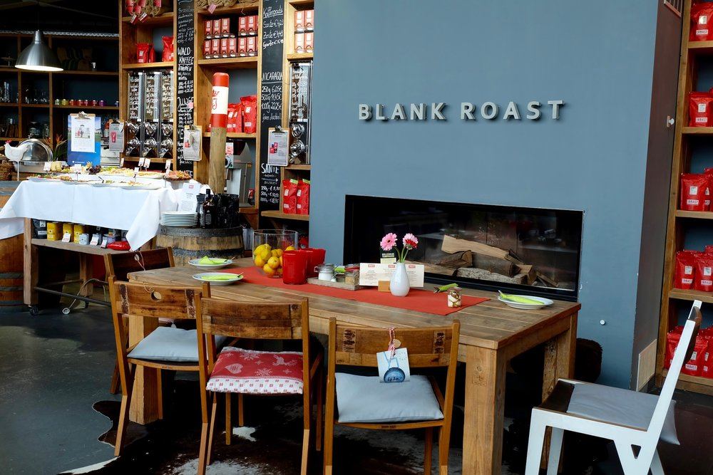 Brunch at  Blank Roast Kaffeemanufakturer