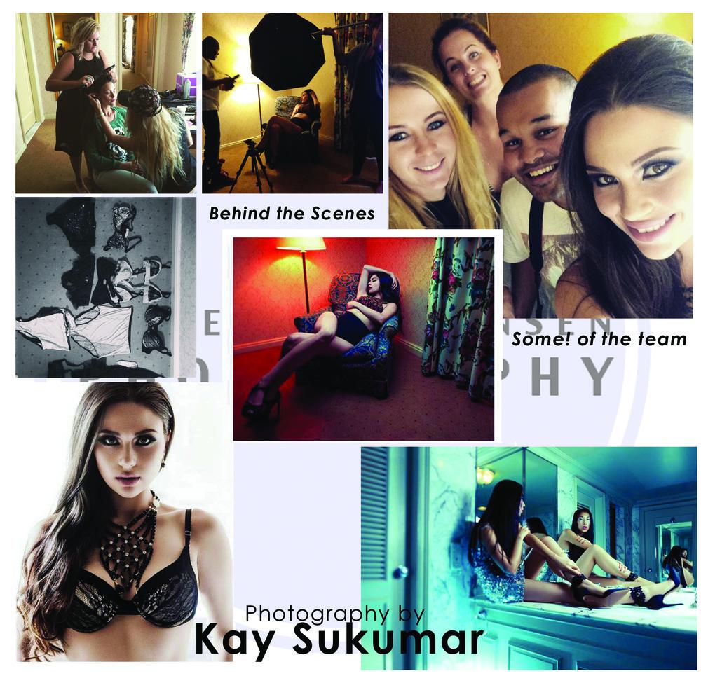 Assisting Kay Sukumar