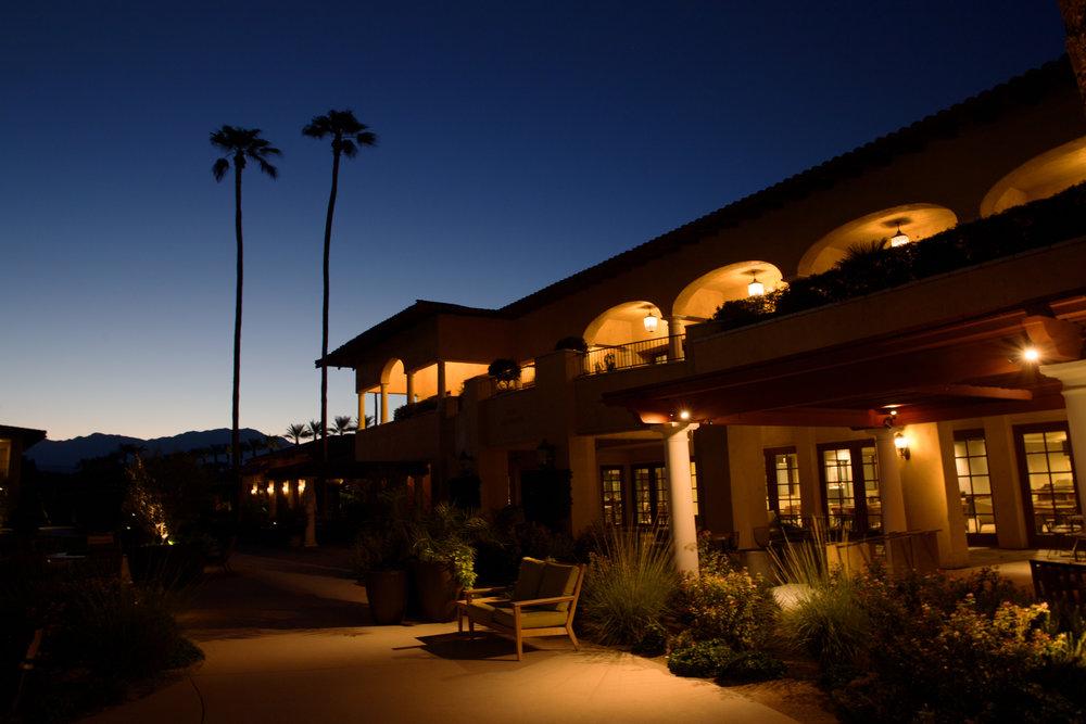 Night time at the Miramonte Resort & Spa