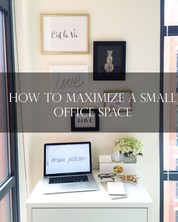Outstanding How To Maximize A Small Office Space Briana Pashcow Largest Home Design Picture Inspirations Pitcheantrous