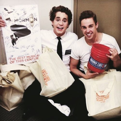 Nic Rouleau (on right, with Ben Platt)
