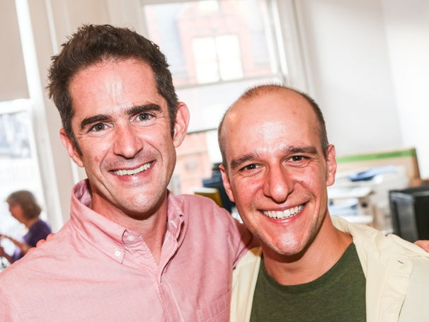 Ryan Kasprzak (right, with Any Blankenbuehler)