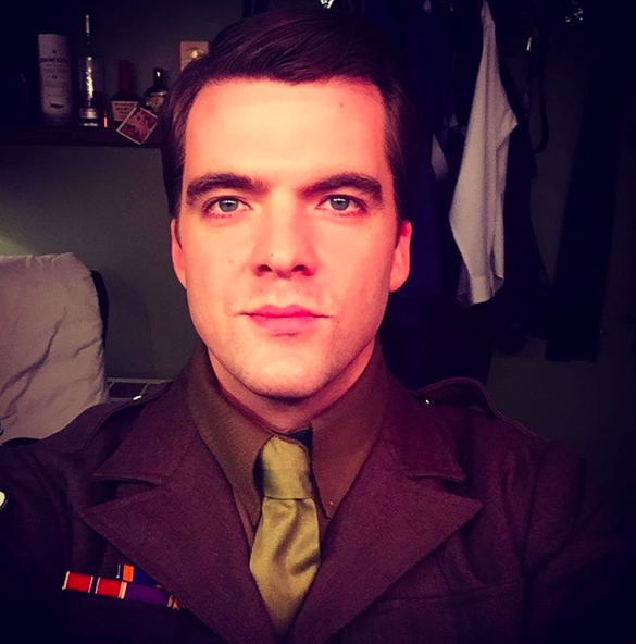 Jonathan Shew, backstage as Donny Novitski