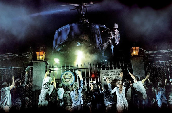 The cast of  Miss Saigon
