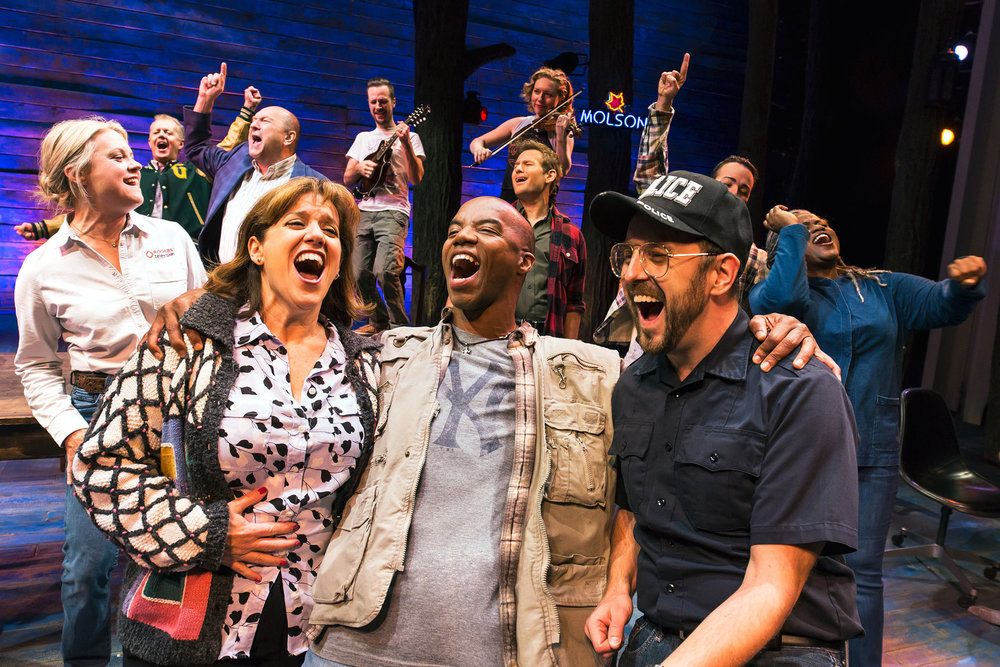 The Company of  Come From Away