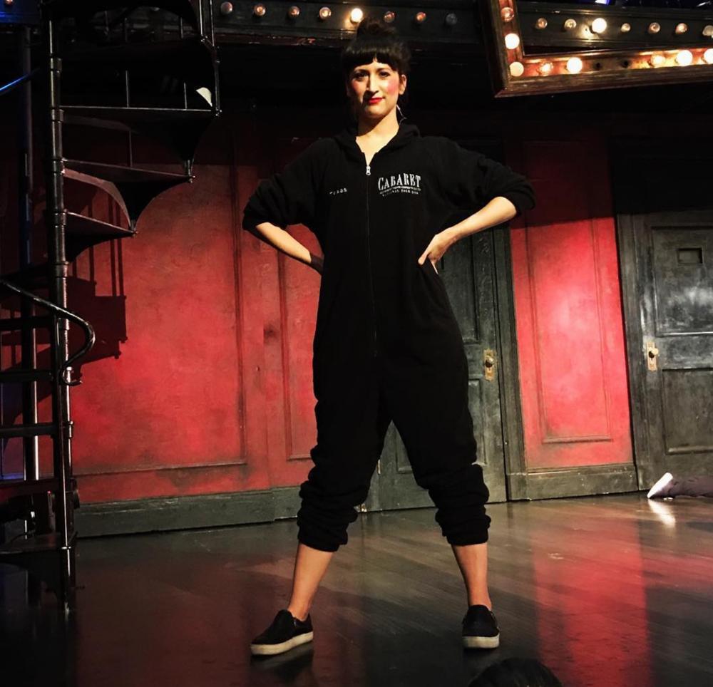 Kendal Hartse in her  Cabaret  onesie
