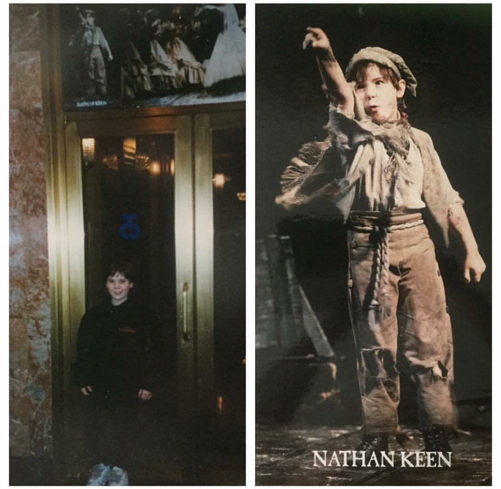 Nathan Keen in  Les Miserables
