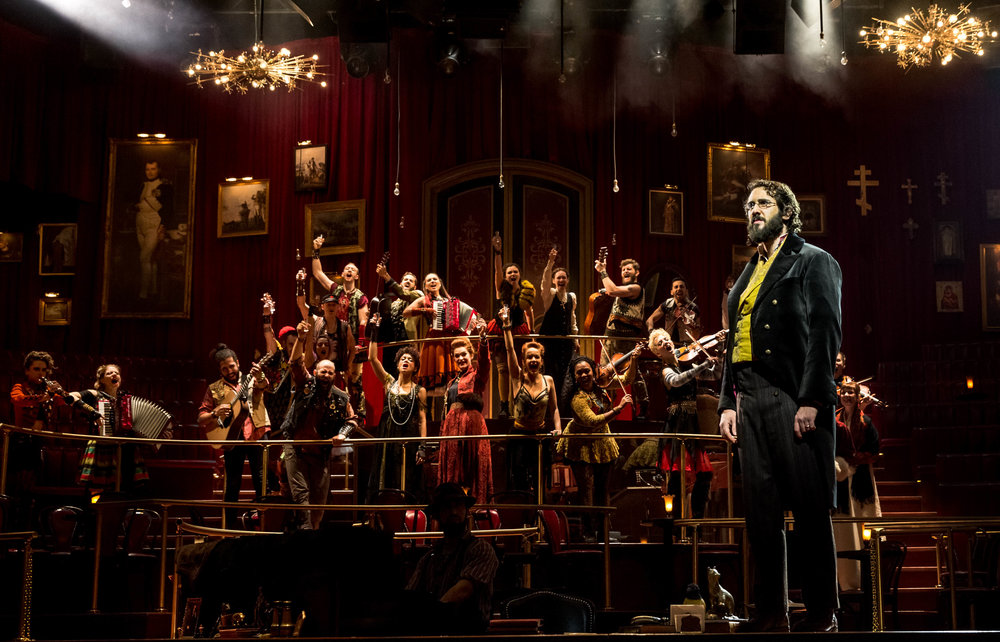 The company of  Natasha, Pierre & The Great Comet of 1812