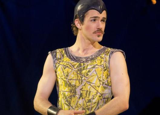 Eric Altemus as Lewis in  Pippin