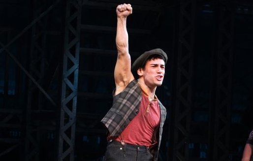 Tommy Bracco as Spot Conlin in  Newsies