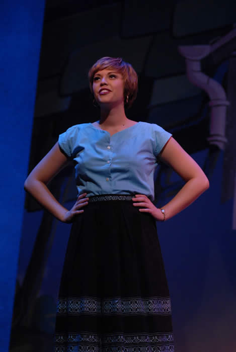 Cortney Wolfson in  The Pajama Game  at the University of Michigan
