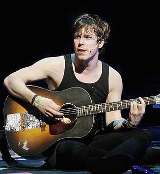 John Gallagher Jr. as Johnny in  American Idiot