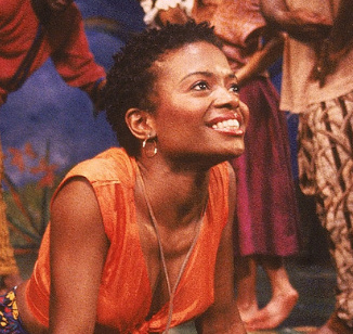 LaChanze as Ti Moune in  Once on this Island