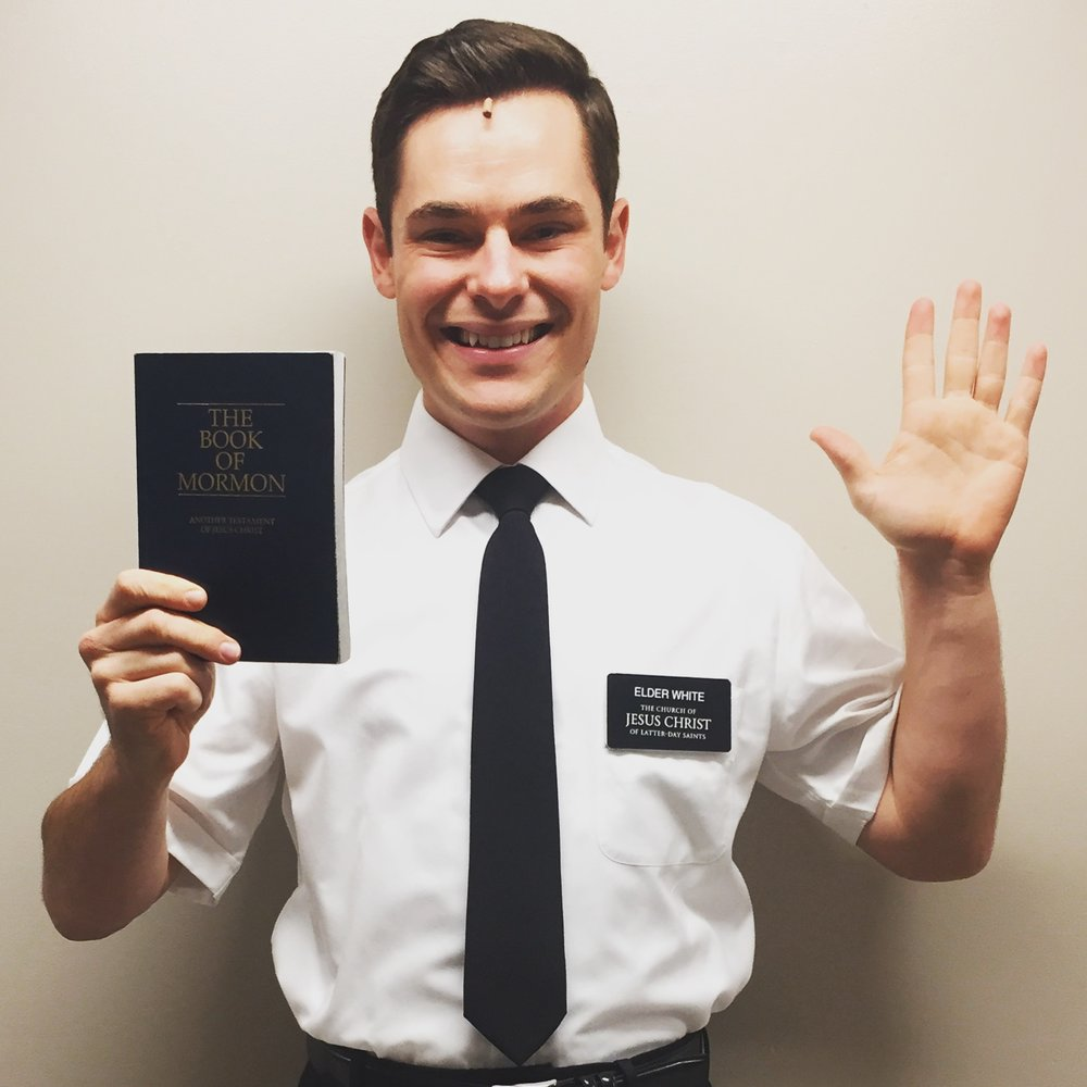 Jacob Haren in The Book of Mormon