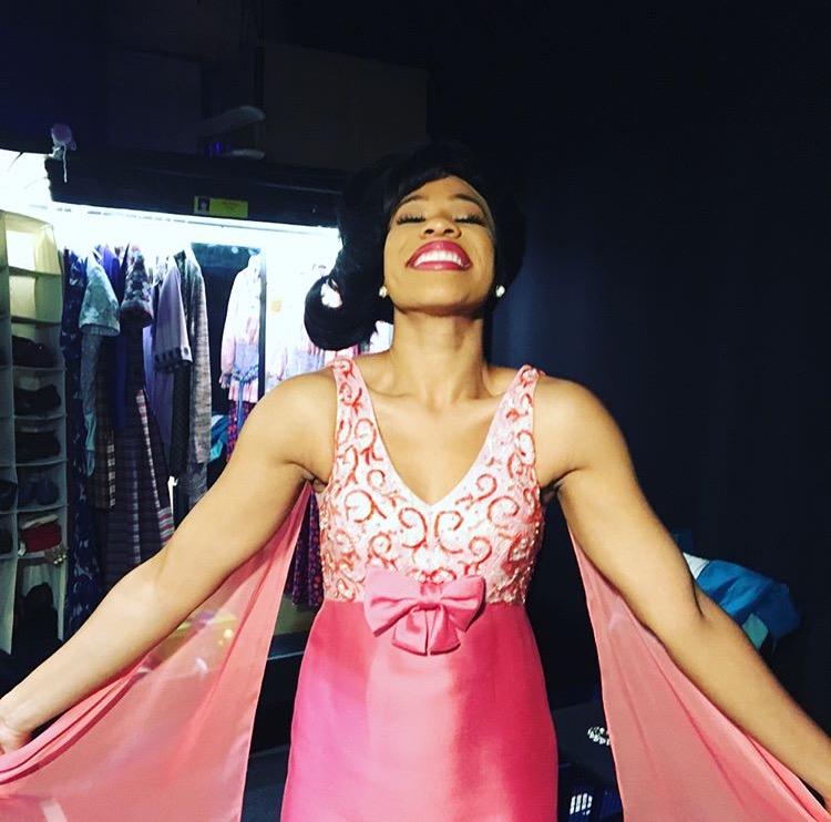 Salisha Thomas in  Beautiful: the Carole King Musical