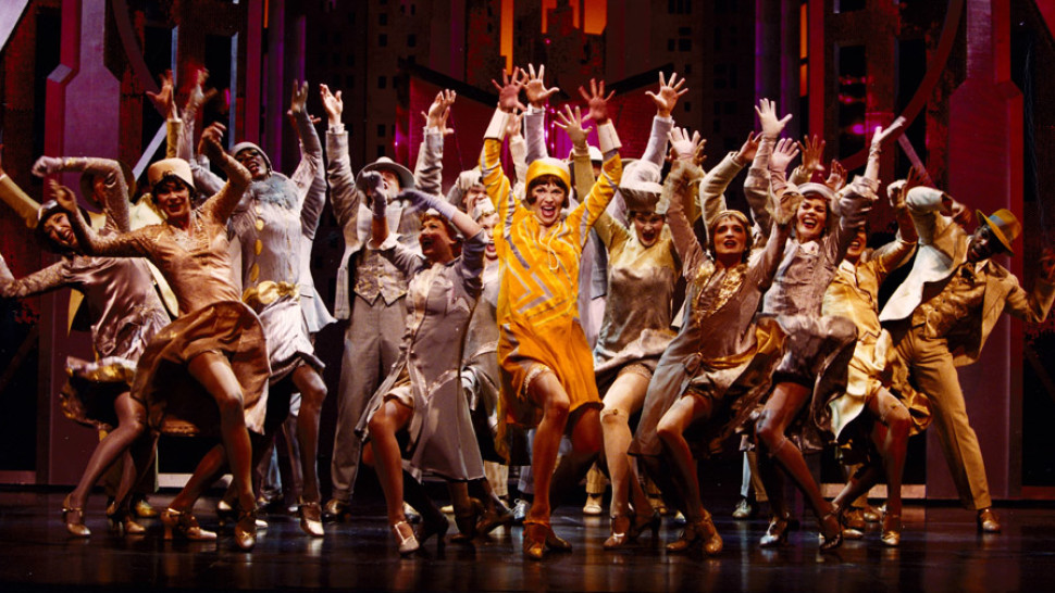The original Broadway cast of  Thoroughly Modern Millie