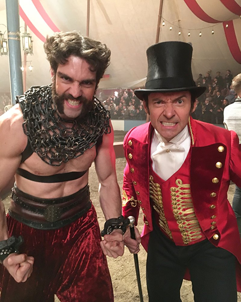 Timothy Hughes (left, with Hugh Jackman)