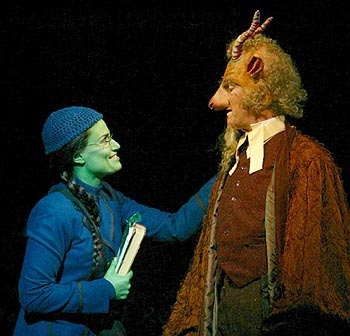 Idina Menzel & William Youmans in  Wicked