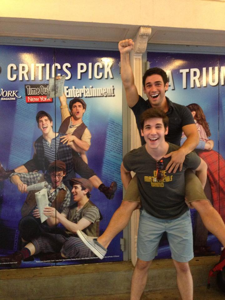 Tommy Bracco and Adam Kaplan