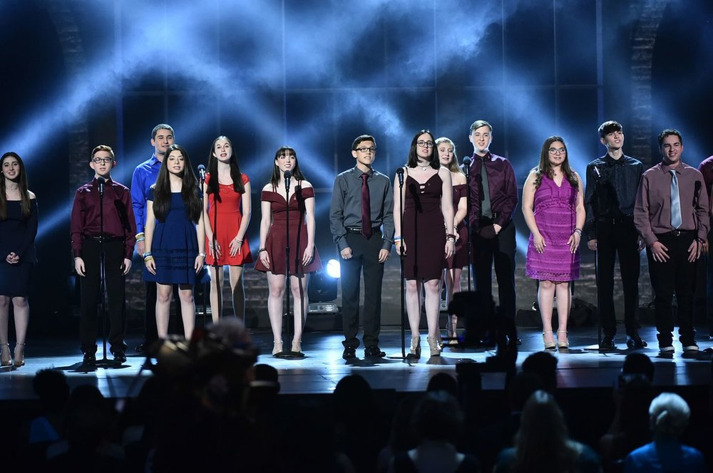 Marjory Stonemann Douglas High School Students at the 2018 Tony Awards