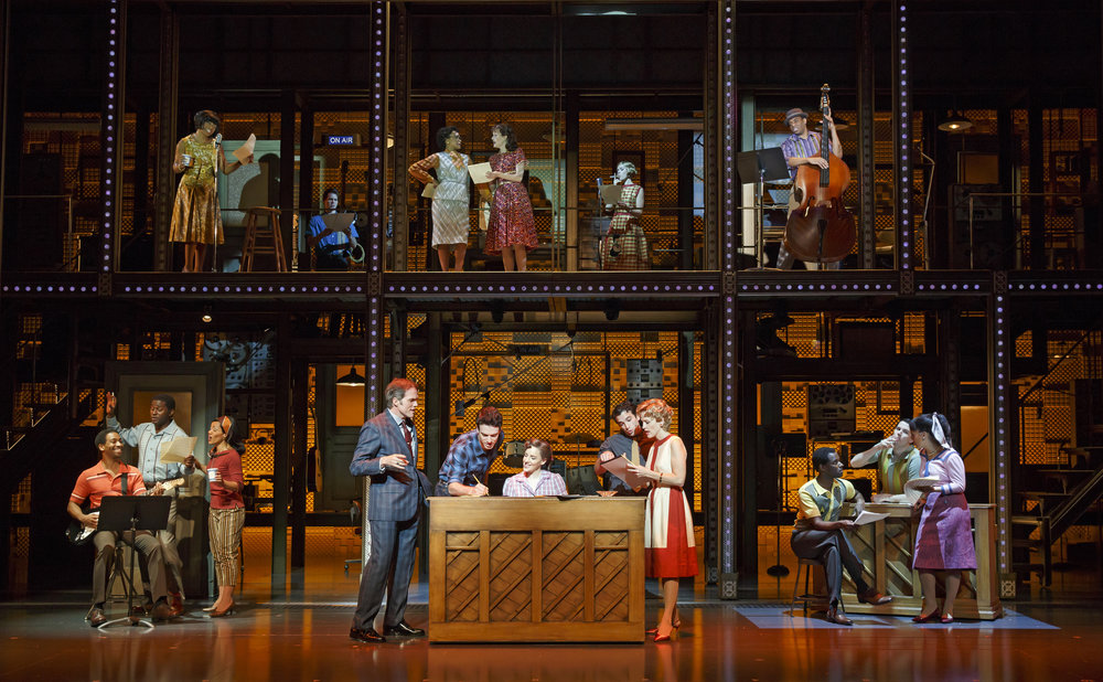 The original Broadway company of  Beautiful: The Carole King Musical