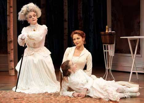 Keaton Whittaker with Angela Lansbury and Catherine Zeta-Jones in  A Little Night Music