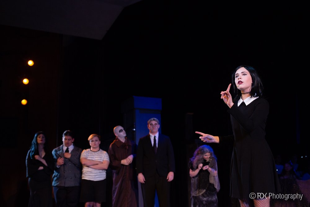 The Addams Family  at West Hartford Summer Arts Festival (Photo: Rob Kavaler of RDK photography)