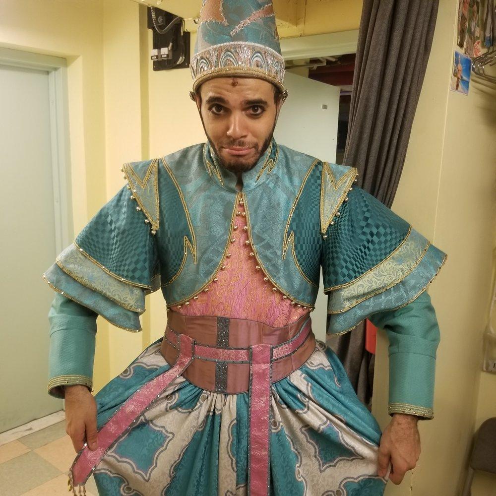 Tyler Roberts in  Aladdin