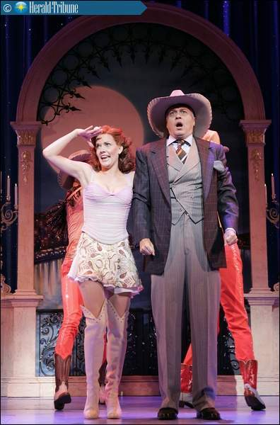 Jenifer Foote (Left) in  Dirty Rotten Scoundrels