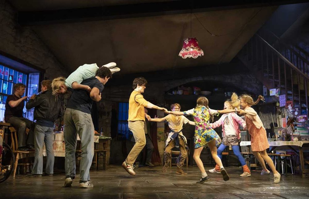The cast of  The Ferryman  on Broadway