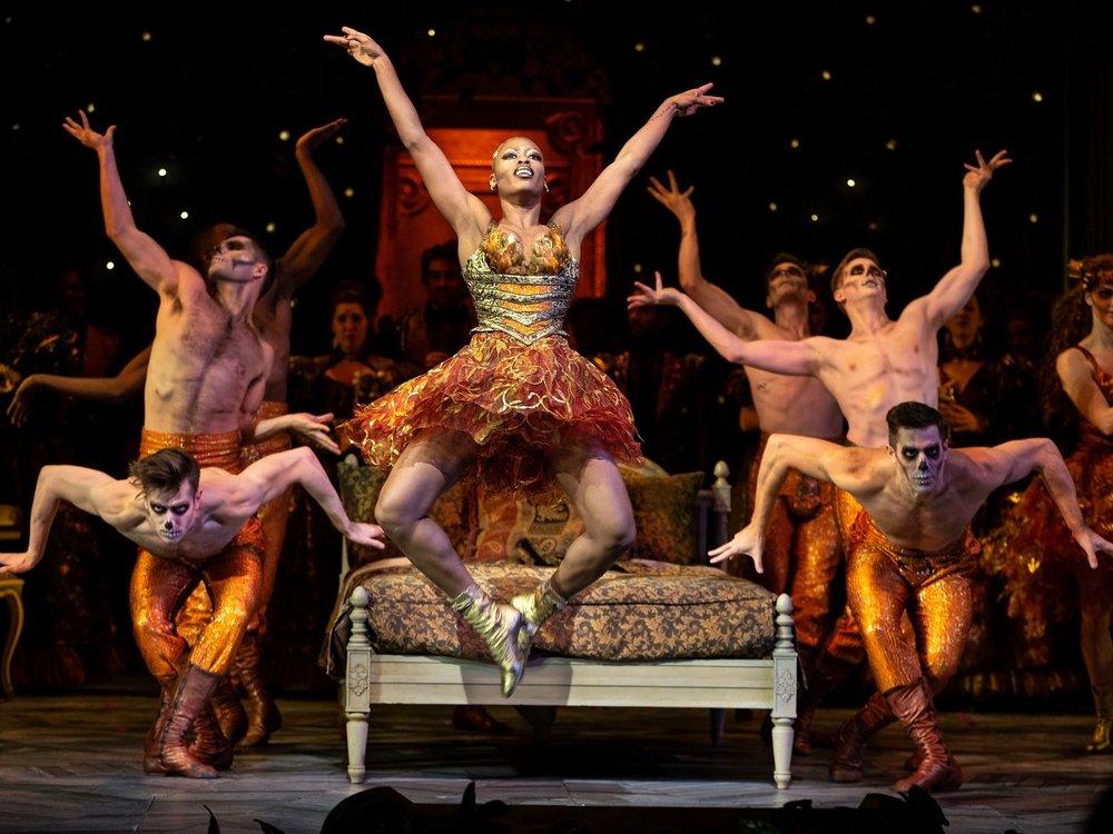 Travis Waldschmidt (second from right) in  Met Opera's  la Traviata