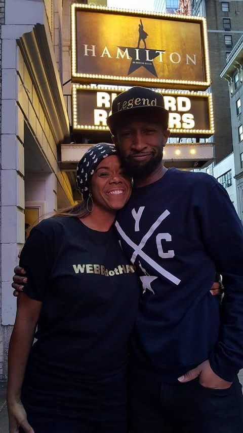 Rebecca Covington Webber and Donald Webber