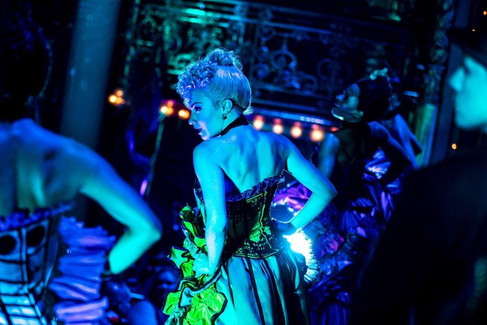 Paloma Garcia-Lee in  Moulin Rouge!  (Photo by Matthew Murphy)