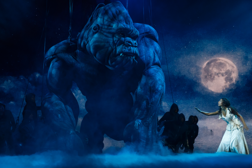 The company of  King Kong  (Photo by Joan Marcus)