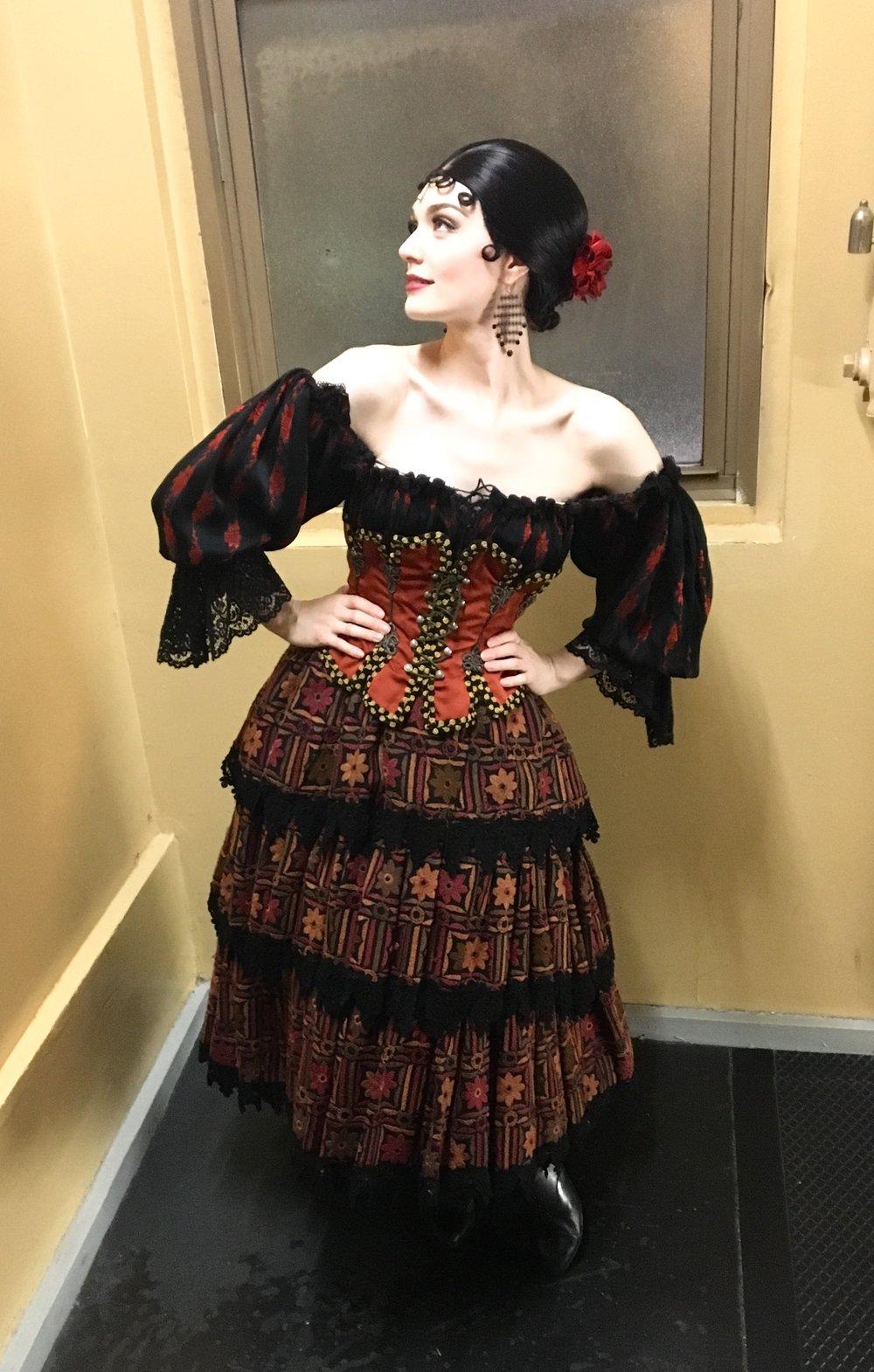 Rachel Anne Moore in  The Phantom of the Opera