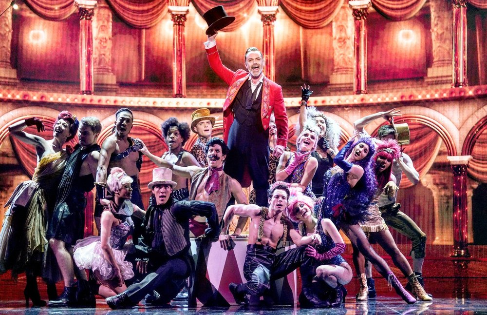 Ryan Gover and the cast of  All Star Musicals
