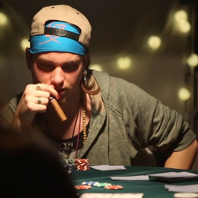 The best part about poker is there's no down side. #charitystrippoker #poker #nyc #pokerplayer #strippoker