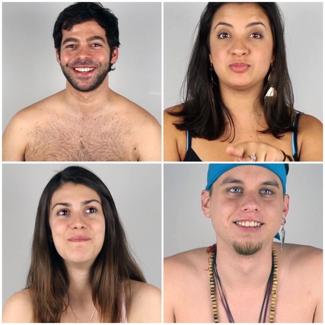 Meet the first #players! Of the game Ian Bardot #DjProducer Debora Rodrigues #Actress Mapi Bg #Designer Alejandro Castro #Copywriter. #poker #charitystrippoker #nyc #strippoker #pokerplayer