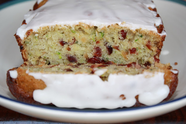 Zucchini bread with dried cranberries almonds the hobo kitchen as a part of my i need to clean up all these food network magazines lying around my room effort ive been finding some new recipes forumfinder Image collections