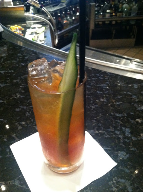Pimm's cup - I loved it!
