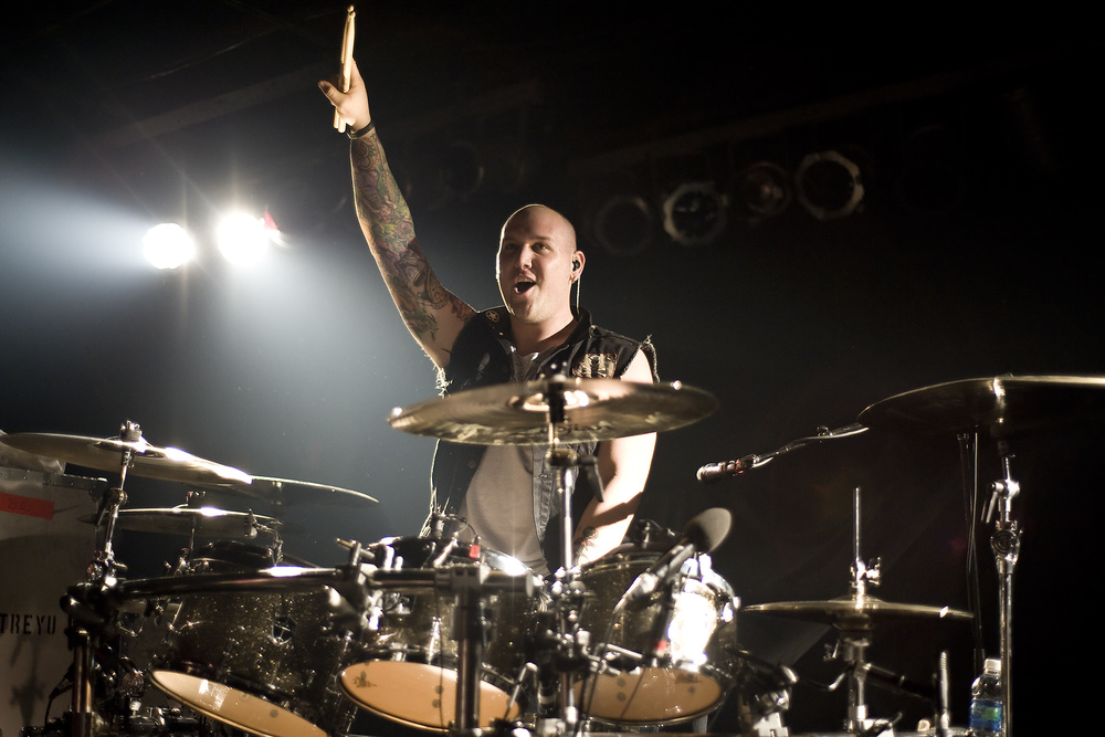 Brandon Saller of Atreyu.