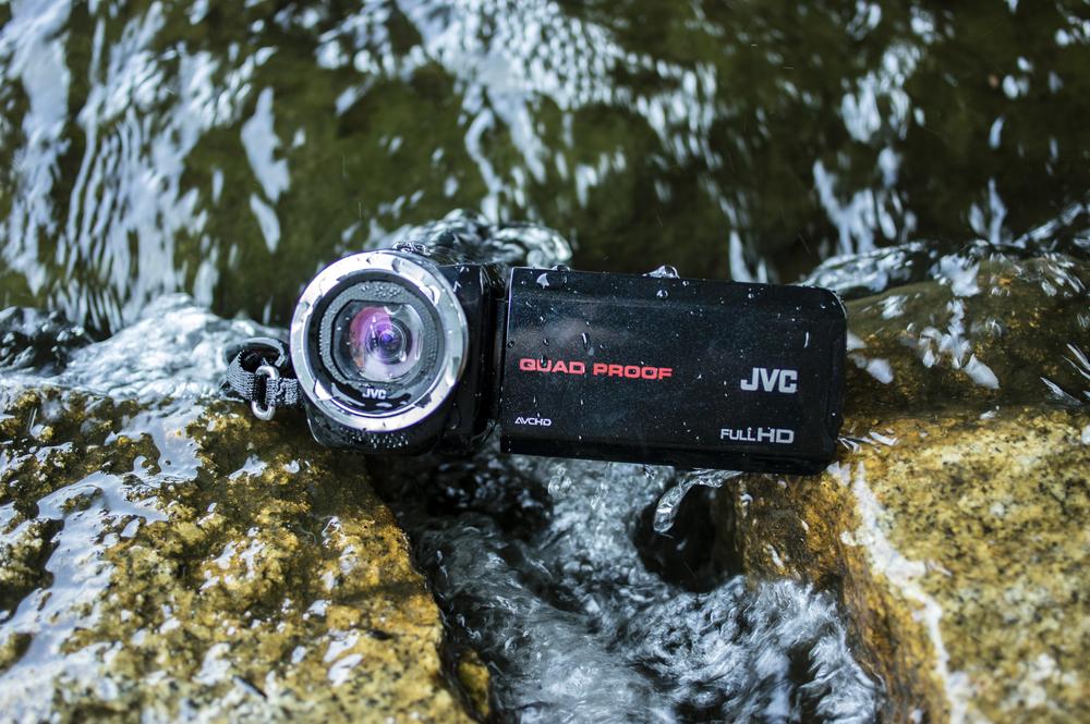 JVC Quadproof Camcorder.