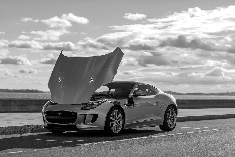 2016 Jaguar F-Type S Hood Up