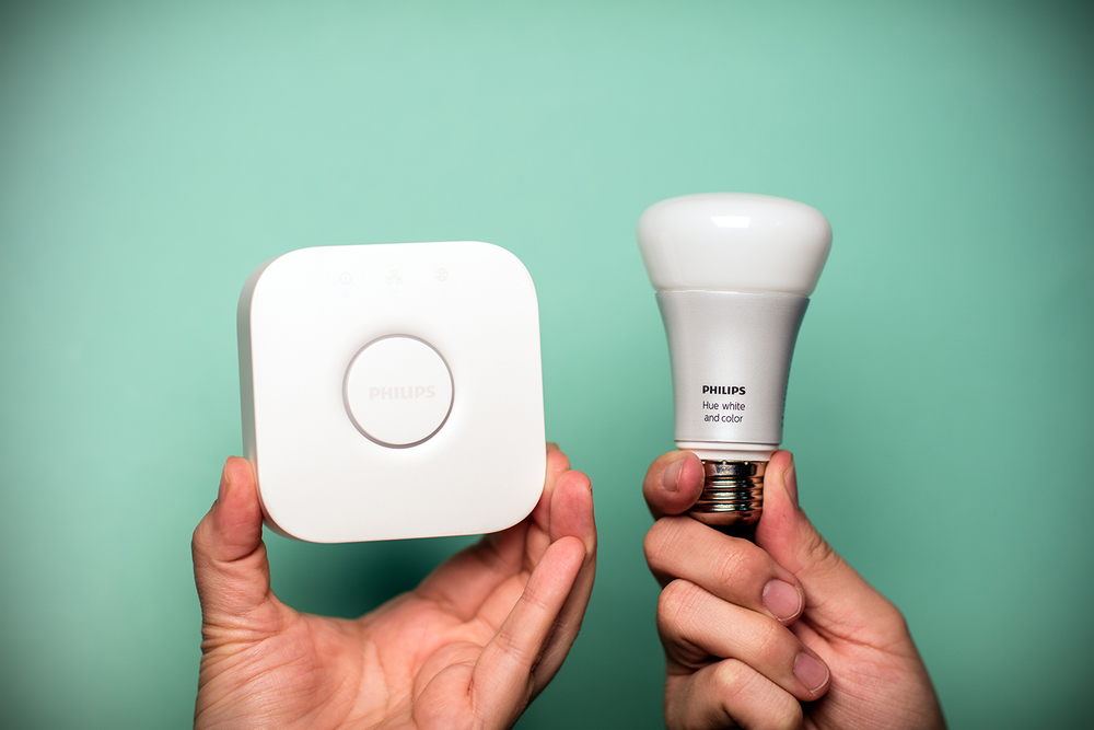 Philips Hue Color w/ Hub.