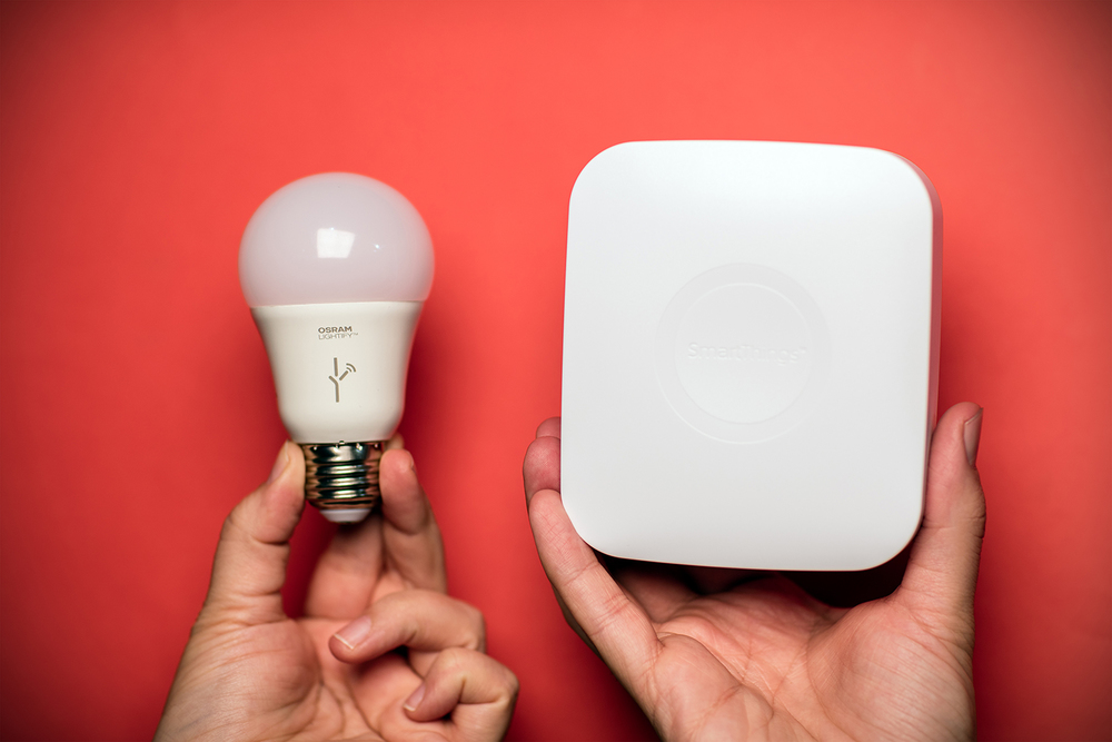 Osram Lightify with SmartThings.