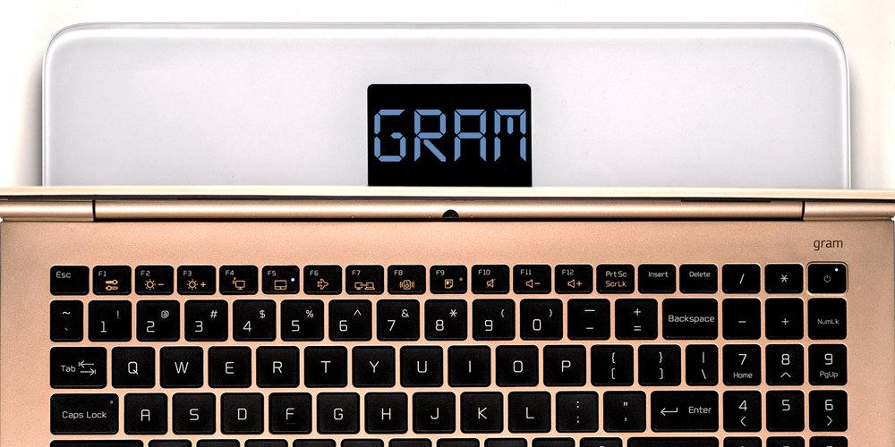LG Gram laptop.