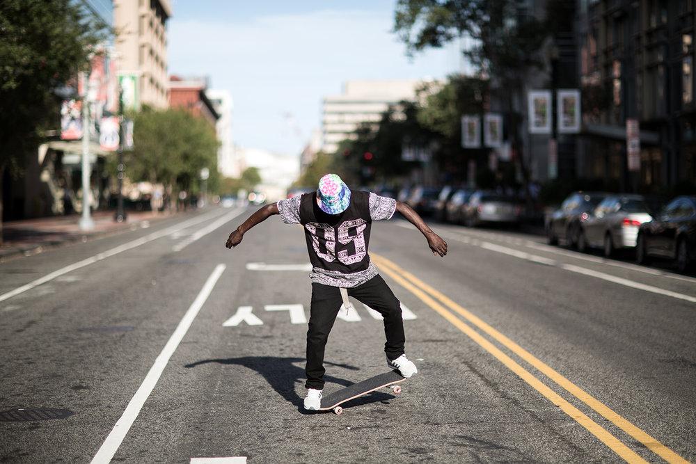 Skater Man.
