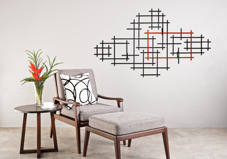 RECTANGULATION - Naked Grids Series by Karo Studios - Karo Studios Glass  and Metal Wall Sculptures