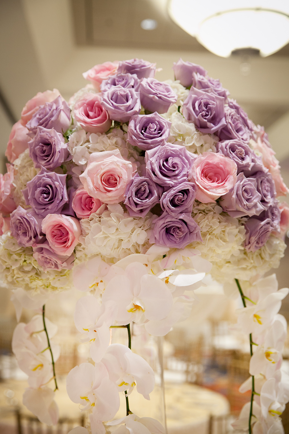 1_ Lavender and pink centerpiece.jpg